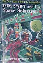 Tom Swift Jr. and his Space Solartron #13 Dust Jacket - Product Image
