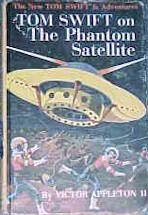 Tom Swift Jr. on the Phantom Satellite #9 Picture Cover - Product Image