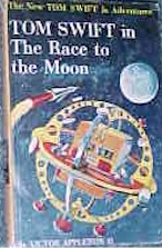Tom Swift Jr. in the Race to the Moon #12 Picture Cover - Product Image
