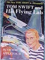 Tom Swift Jr. and his Flying Lab #1 Dust Jacket - Product Image