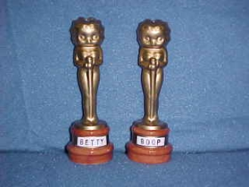 Betty Boop Oscar Statues.  Made by Vandor. - Product Image