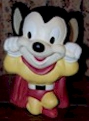 Mighty Mouse Cookie Jar - Product Image