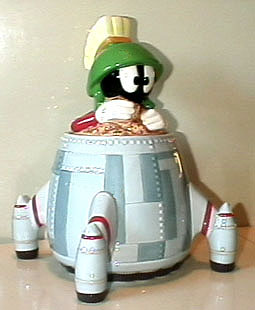 Marvin the Martian in his space ship - Product Image