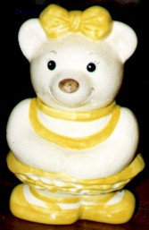 Metlox Ballerina Bear Cookie Jar - Product Image