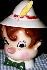 Metlox Pinnochio Cookie Jar - Product Image