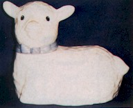 Metlox Lamb Cookie Jar - Product Image