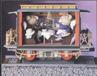 Train - Railway Romance Dining Car - Product Image