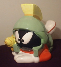 Marvin the Martian - Laying Down with a Ray Gun - Product Image